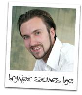 Polaroid photograph of Brynjar Saunes Bye, M.D.