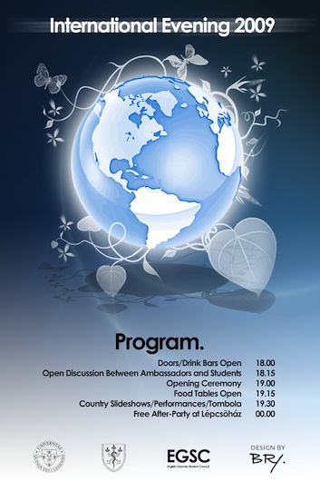 Program booklet front cover.