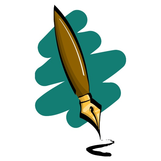 Fountain pen clip art.
