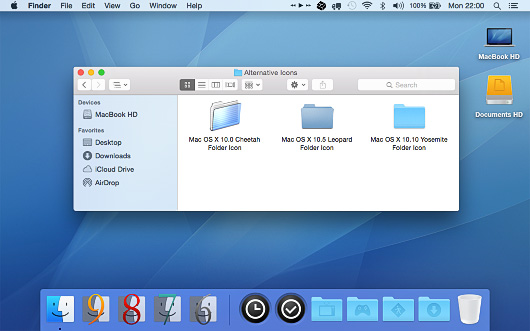 Screenshot of Obscurity for Mac OS X.