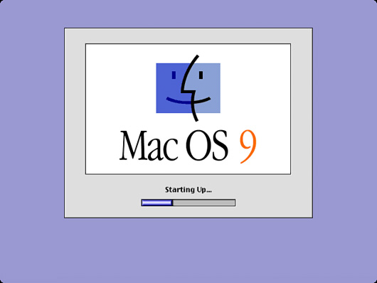 Startup for Classic Mac OS.