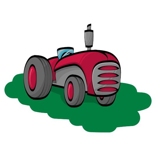 Tractor clip art.