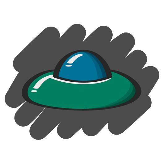 UFO clip art.