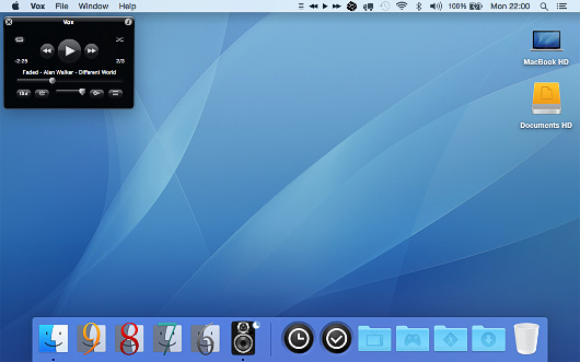 Vox Legacy for Mac OS X 10.10 Yosemite and higher.