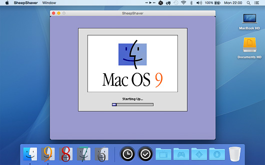 Screenshot of Yosemite Classic for Mac OS X.