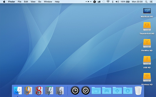 Yosemite Disks for Mac OS X.